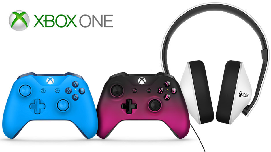 Microsoft announces new Xbox One controllers along with a Special Edition headset