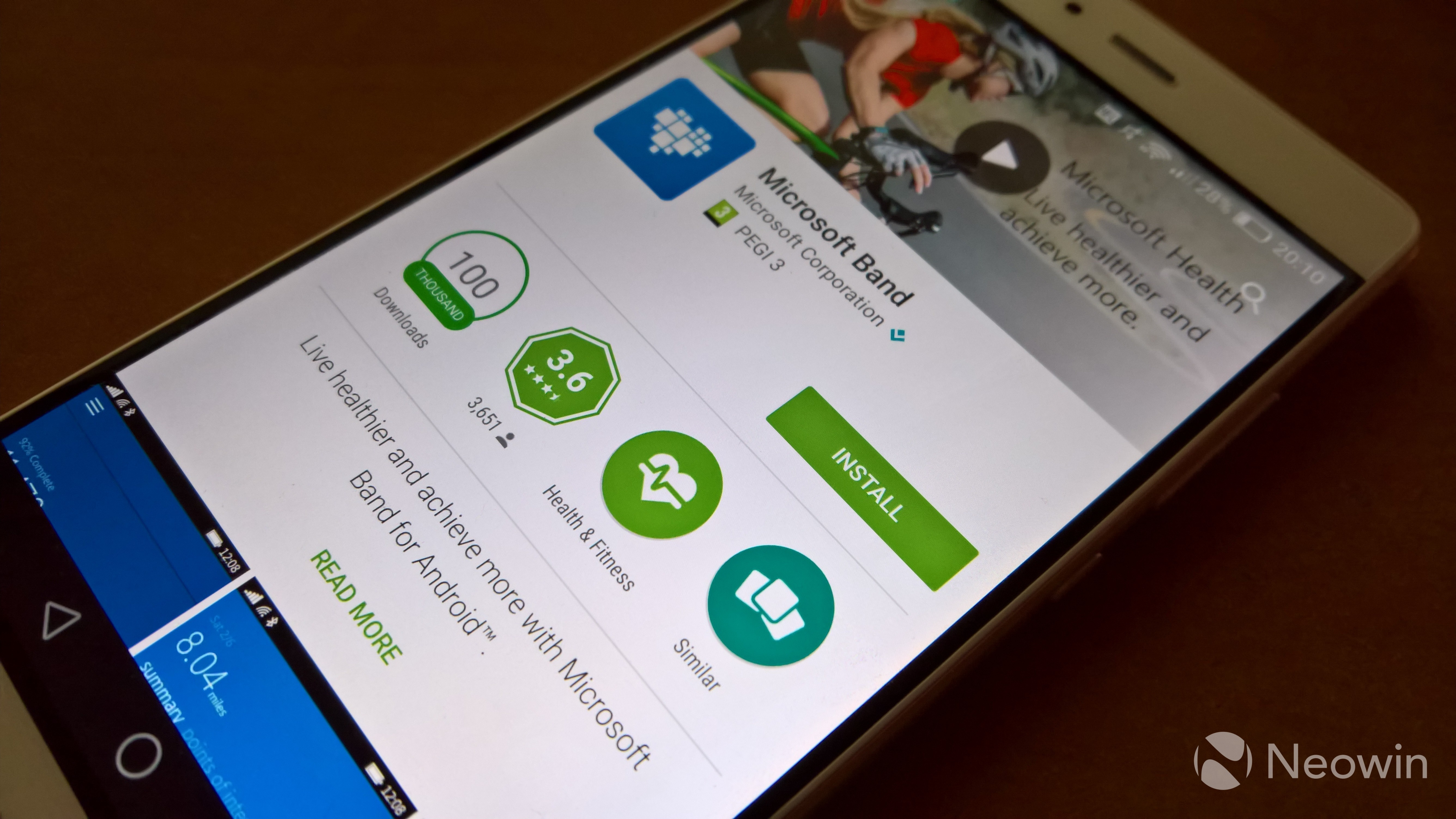 Microsoft Health app on Windows and Android has been rebranded as
