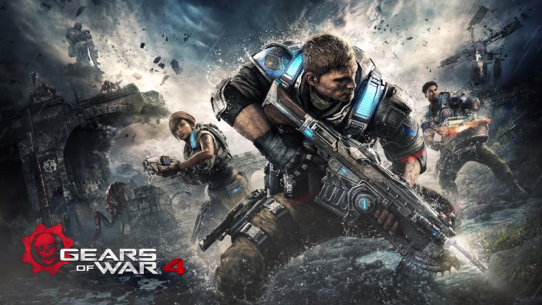 Gears of War 4 - Weapons and Enemines trailer