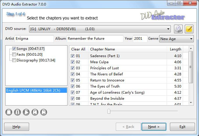 DVD Audio Extractor 7 4 0 - Neowin