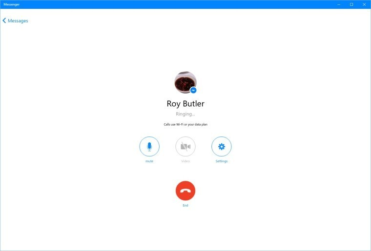Voice and video calling now available in Facebook