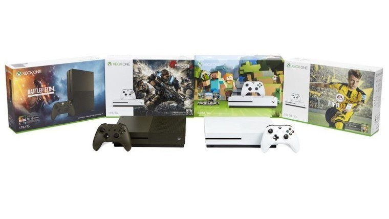 Microsoft announces Xbox One S bundle holiday deals