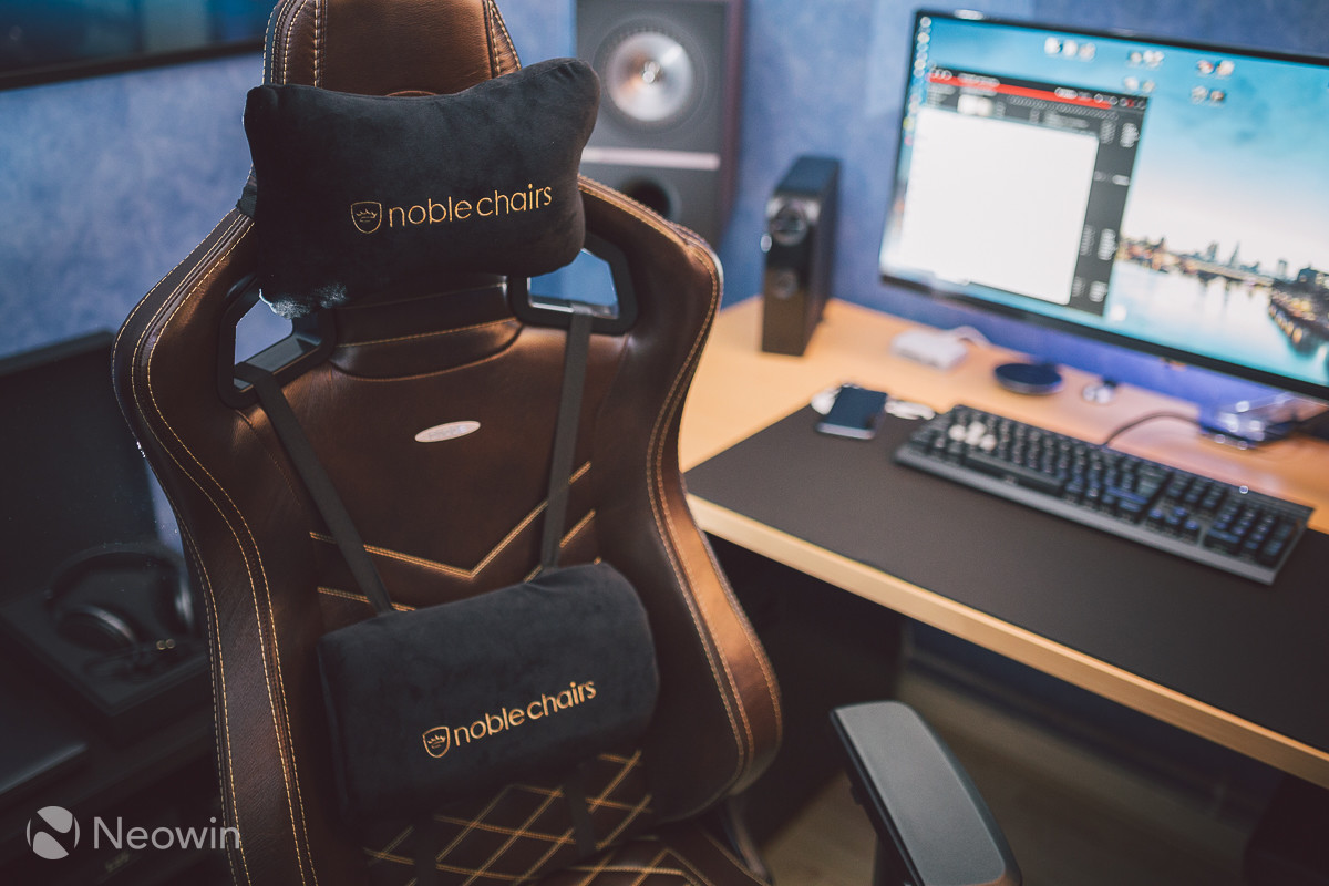 Noblechairs Epic Series Real Leather Chair Review Neowin