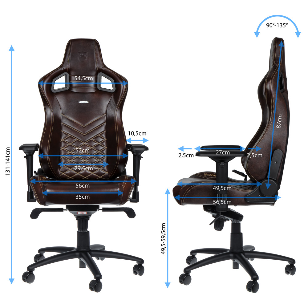 Enjoyable Noblechairs Epic Series Real Leather Chair Review Neowin Ibusinesslaw Wood Chair Design Ideas Ibusinesslaworg