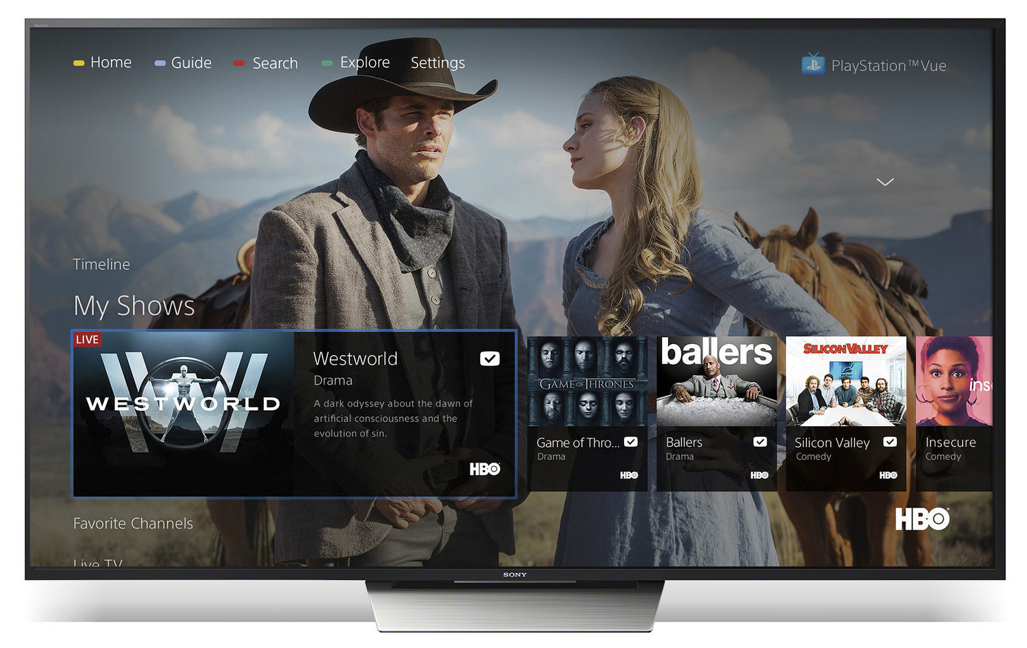 Sony's excellent PlayStation Vue streaming service arrives on Android TV