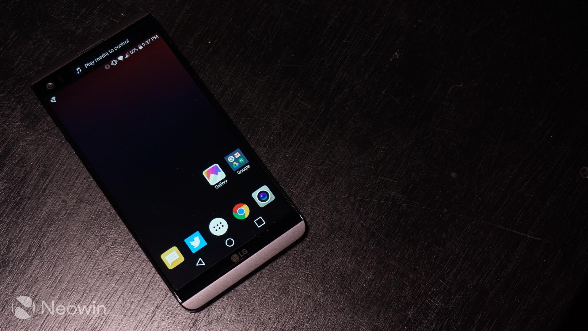 Unlocked LG V20 Hits The US Next Month