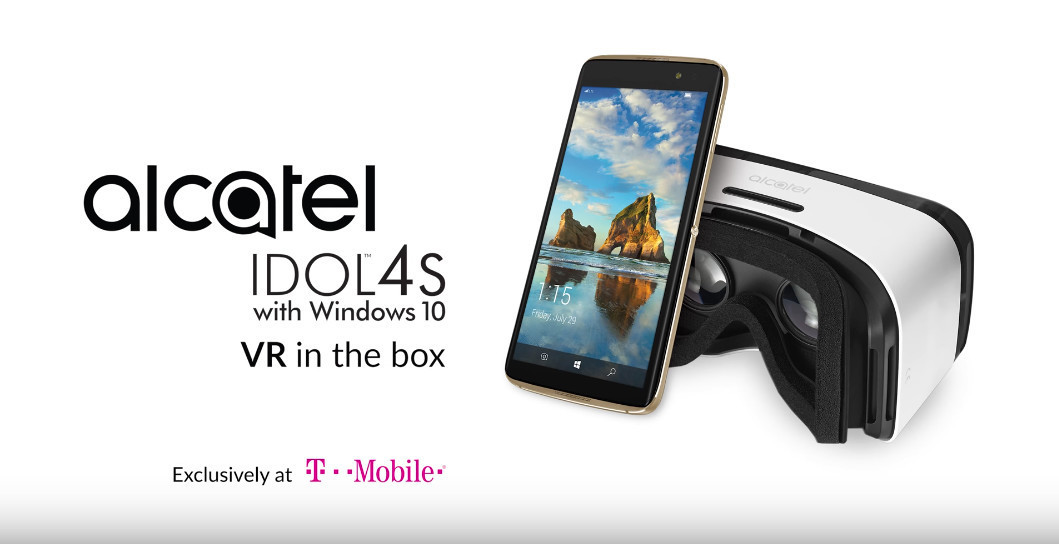 Alcatel Idol 4S with Windows 10 flagship not coming to Europe