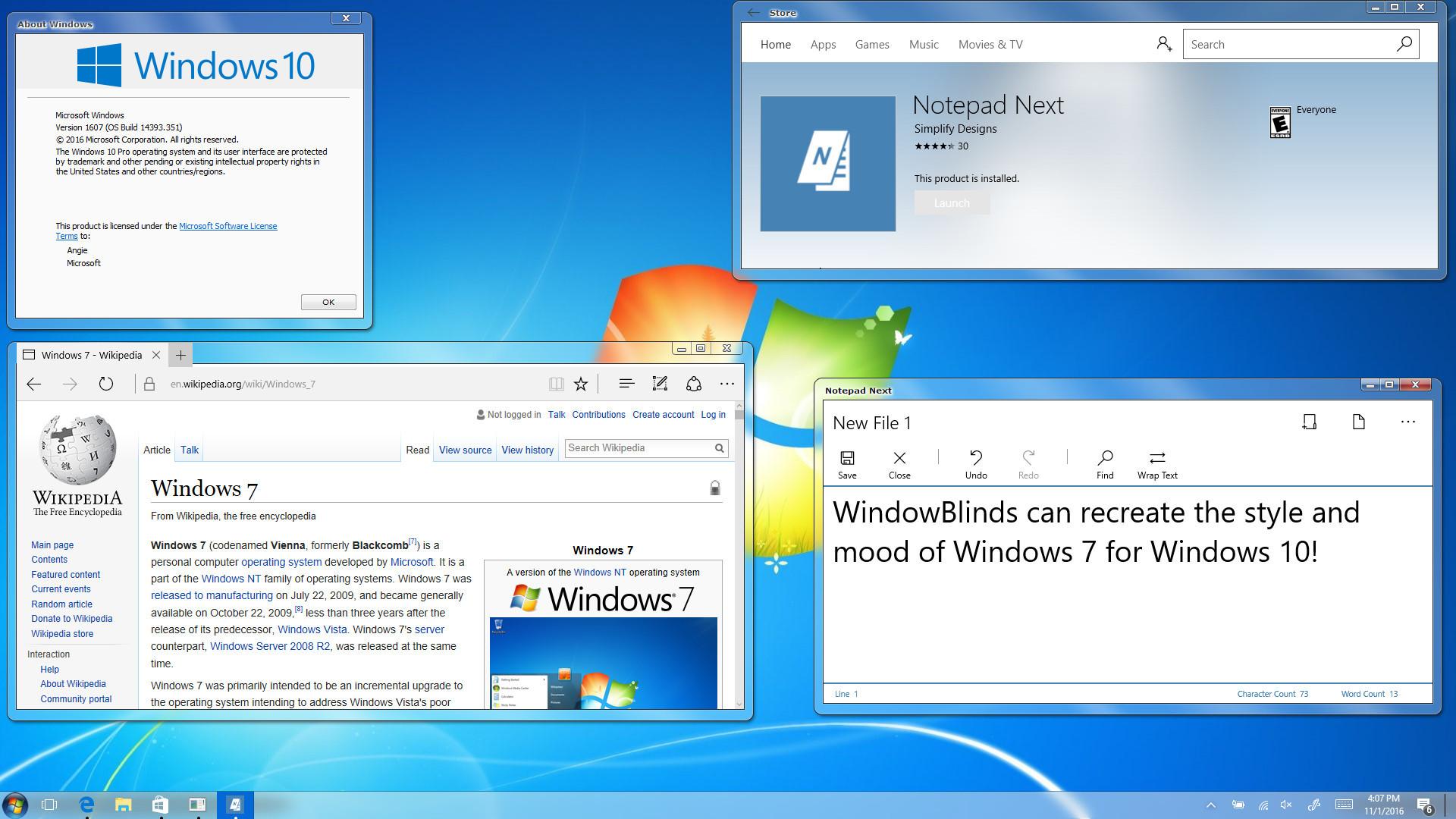 WindowBlinds v10.5 update introduces Universal App ...