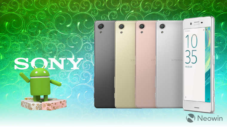 Sony announces details of Android 7.0 Nougat update ...