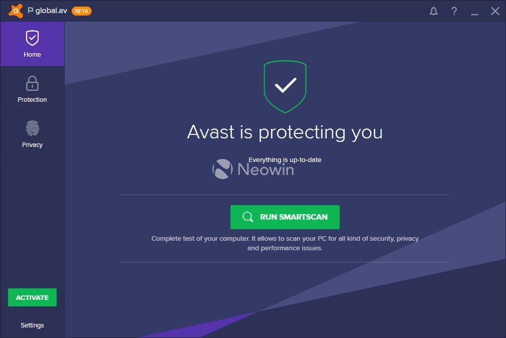 Avast firewall mode changed