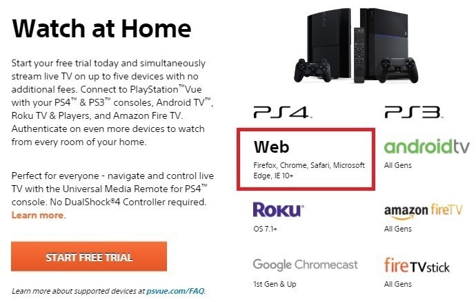 Sony releases PlayStation Vue for both PC and Mac - Neowin
