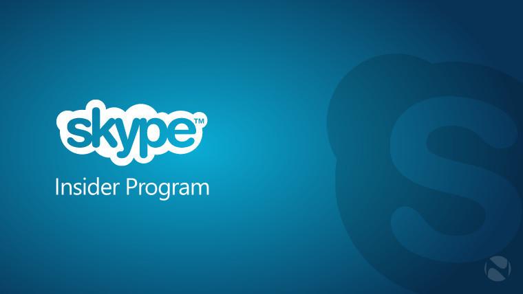 A logo of Skype Insider Program