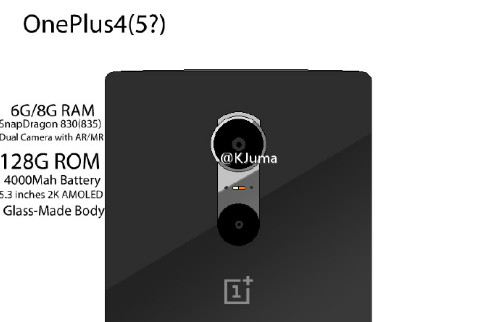 OnePlus 4 Smartphone with Dual Rear Cameras and Glass Body surfaces online