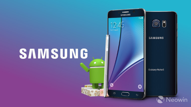 Samsung Turkey reveals detailed roadmap for Android 7 0 Nougat
