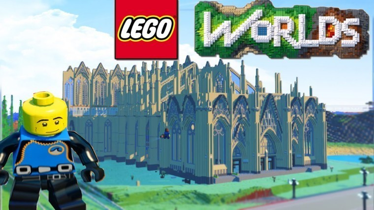 "LEGO Worlds"", LEGO's open-world ""Minecraft"" clone, launches on ..."