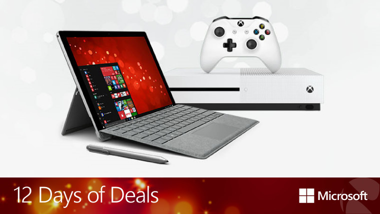 microsoft reveals 12 days of deals on surface lumia xbox vr windows 10 pcs and more