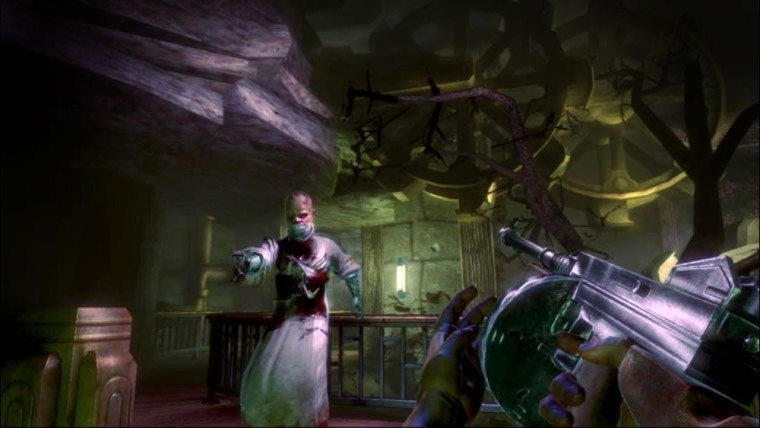 This is a screenshot from the original BioShock