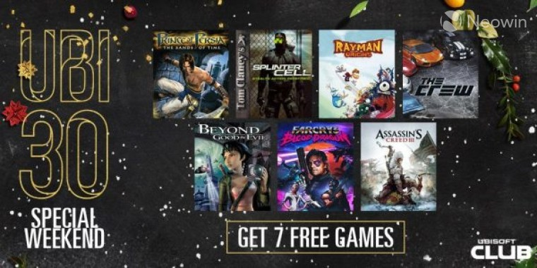 You can now get seven Ubisoft games for free on UPlay - Neowin