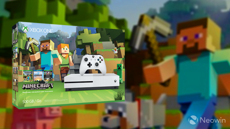 Microsoft slashes price of Xbox One S Minecraft Favorites Bundle ...