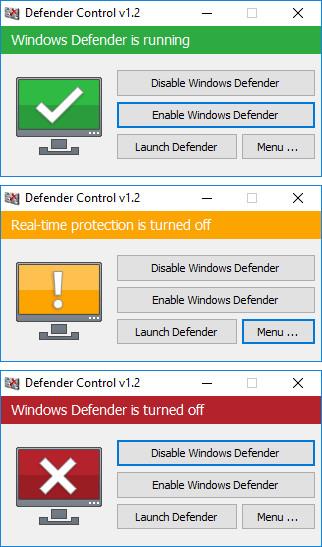 Controle Defender