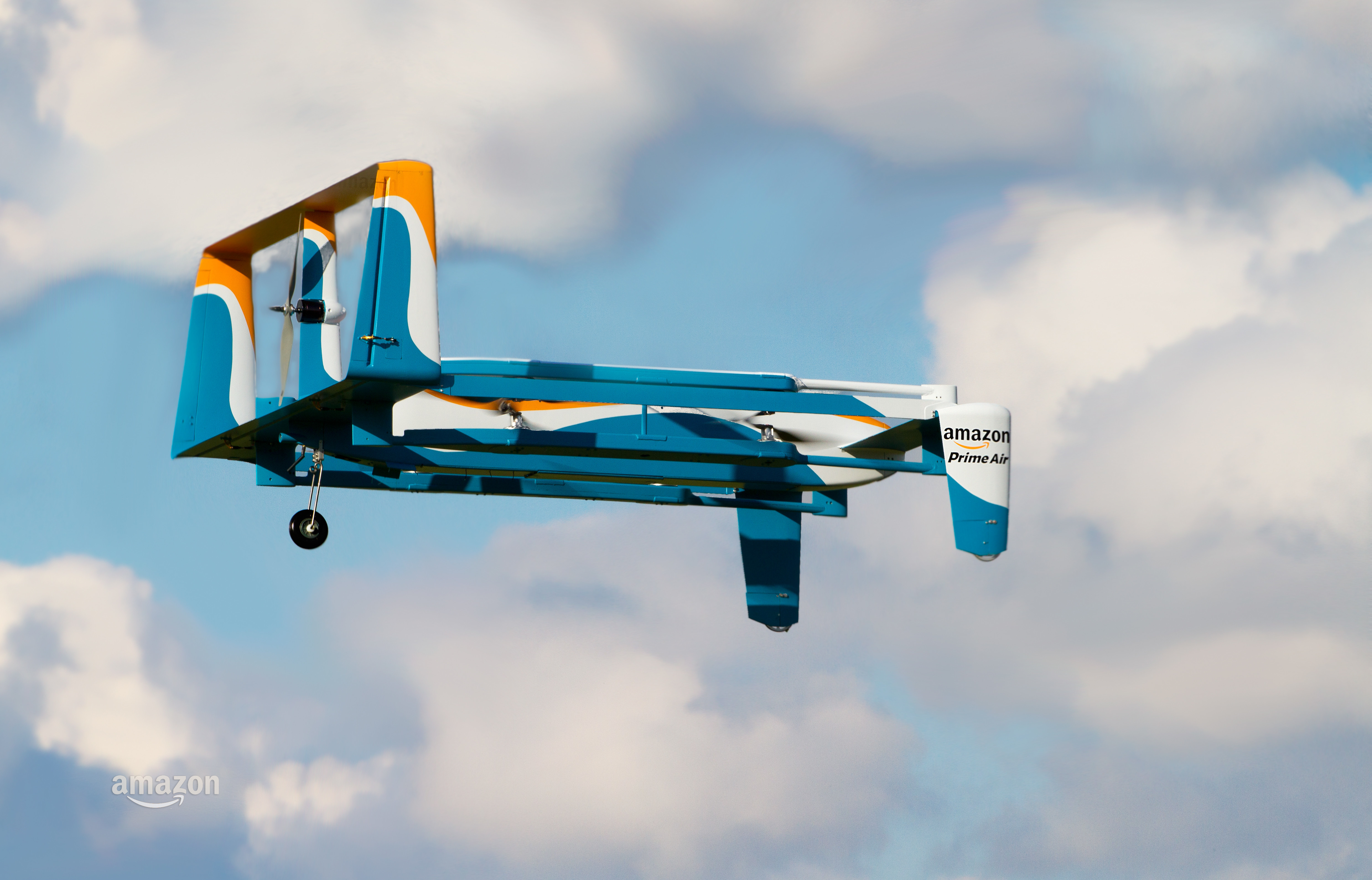 Amazon's New Drone Designed to Self-Destruct in Emergencies
