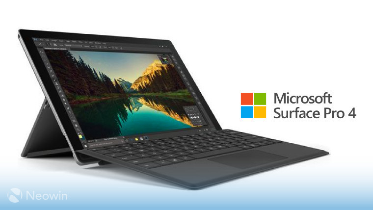 You can now get a Surface Pro 4 with Type Cover for £699 in