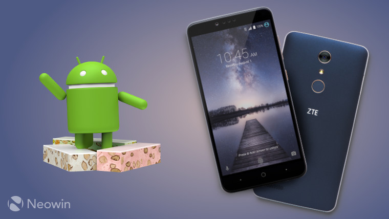 ZTE opens registrations for Android 7 0 Nougat beta test on Zmax Pro