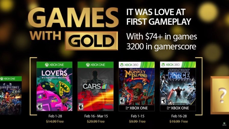 Xbox Games With Gold February 2020.Xbox Games With Gold You Can Now Get Project Cars And Star