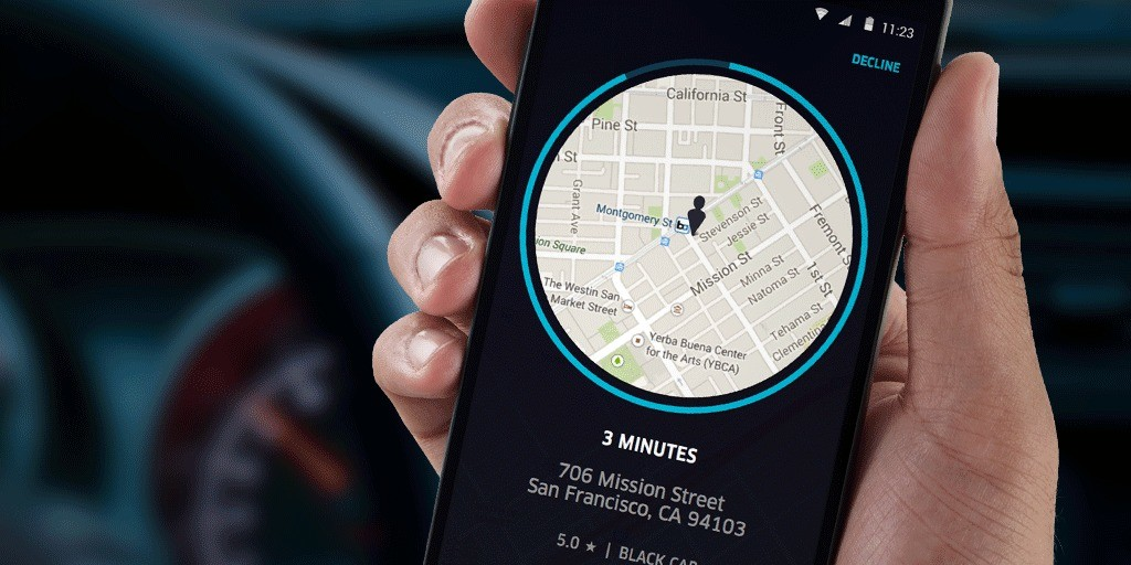 Uber's iOS app could have recorded your screen