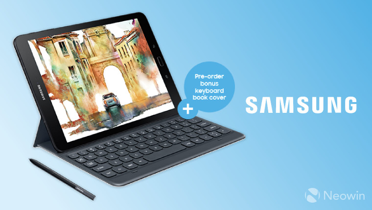 huge discount a2bc7 3fed0 Pre-order Samsung's Galaxy Tab S3 in the UK, and you'll get a free ...