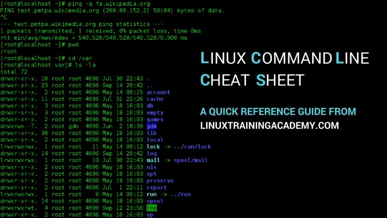 "Get this ""Linux Command Line Cheat Sheet"" eBook, for free"