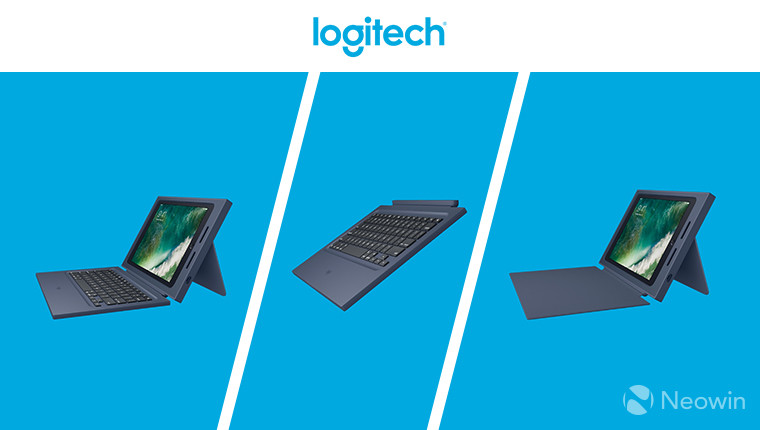 e27fed8eb4c Logitech has announced the availability of a new range of rugged  accessories for Apple's newest generation, more affordable 9.7-inch iPad.