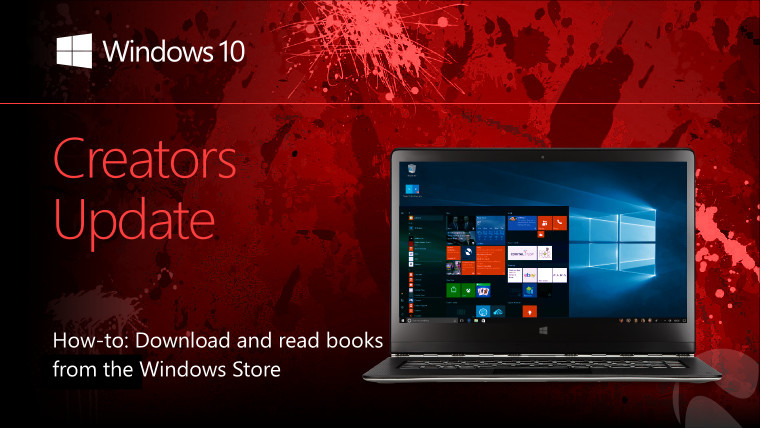 FYI: How to download and read e-books from the Windows 10 Store in