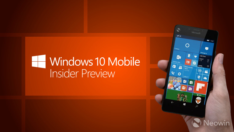 Microsoft releases Windows 10 Mobile build 15205 to the Fast