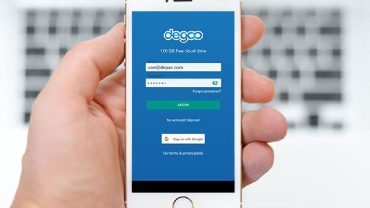 Get this price-dropped Degoo Premium: Lifetime 3TB Backup