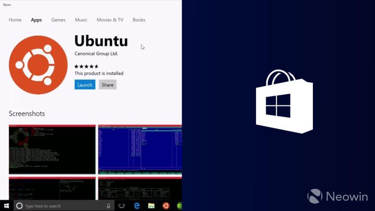 Microsoft is bringing Ubuntu, SUSE, and Fedora to the Windows Store