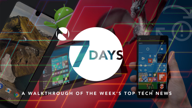 7 Days: A week of the Essential Android, Windows 10 Mobile