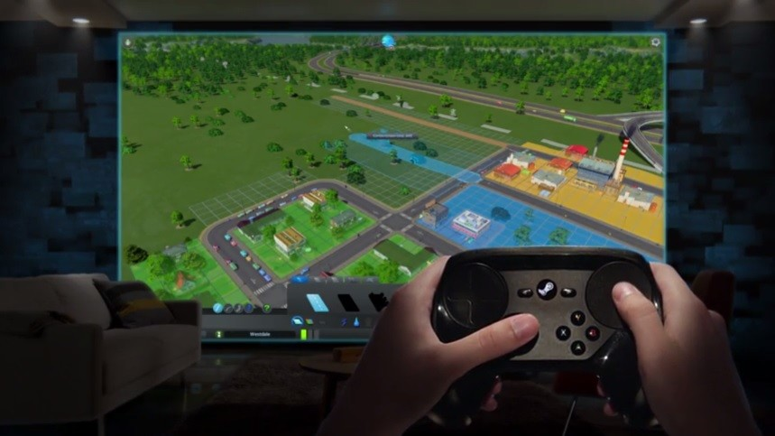Steam Controller gets Bluetooth support for Steam Link mobile gaming