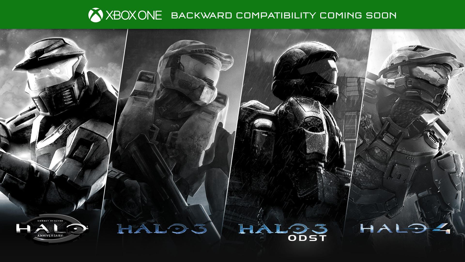 Microsoft adds four Halo games to Xbox One Backward