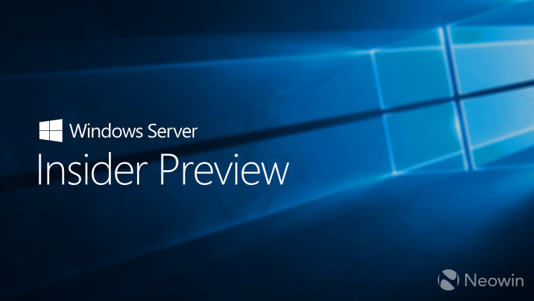 Microsoft releases Windows Server Insider Preview build