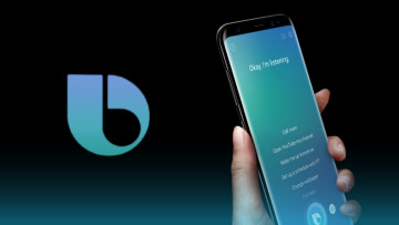 Bixby digital assistant on a mobile device