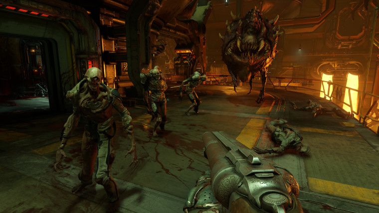 This is a screenshot from Doom