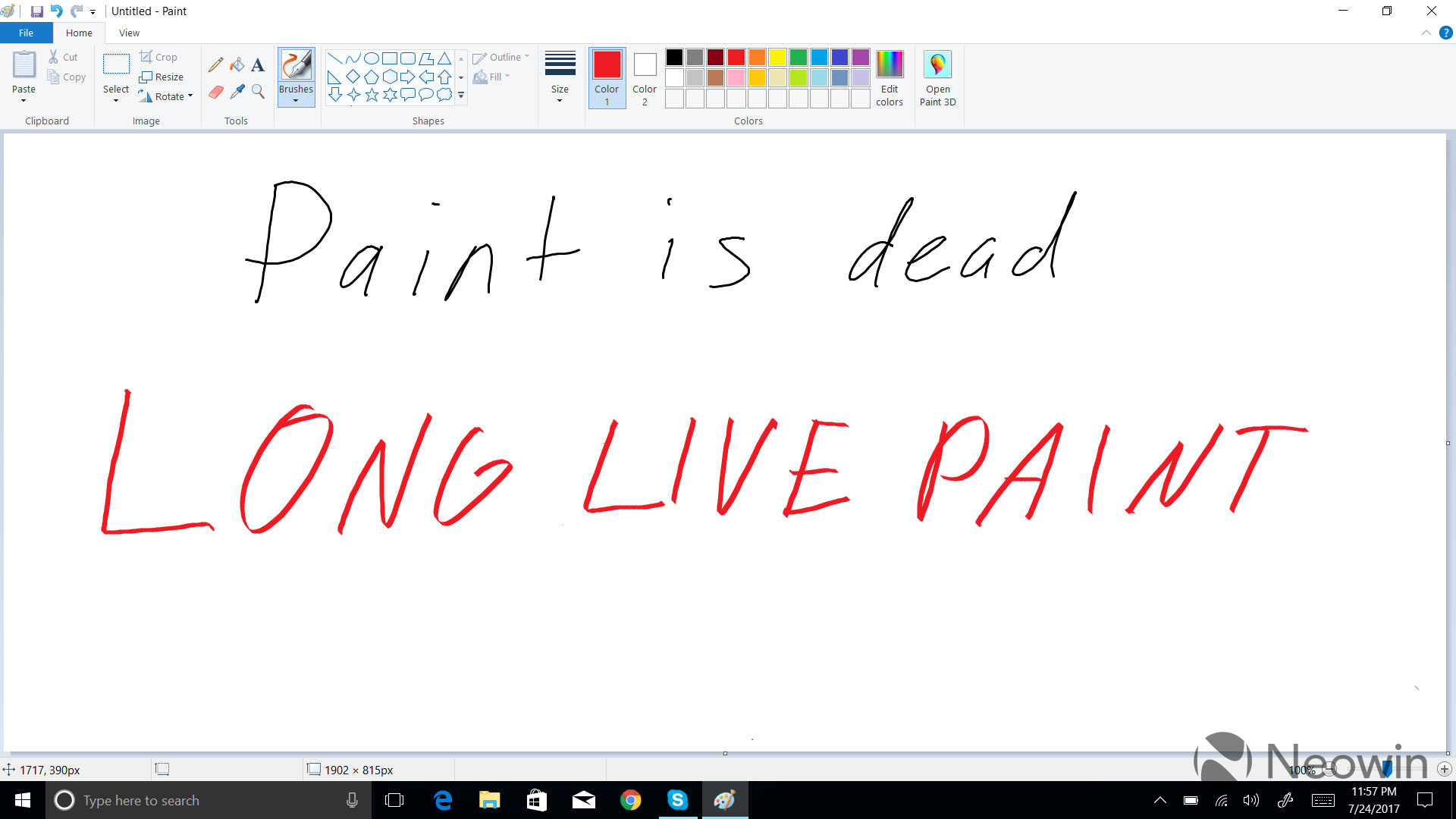 New message in Paint warns of its removal from Windows - Neowin