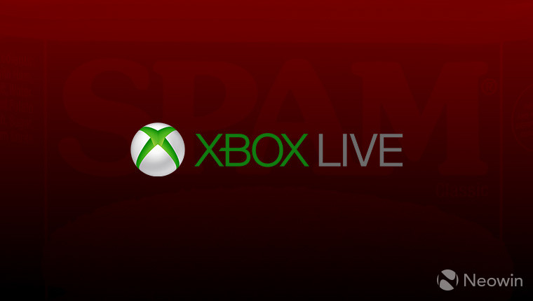 Microsoft is aware of the spam epidemic plaguing Xbox Live users