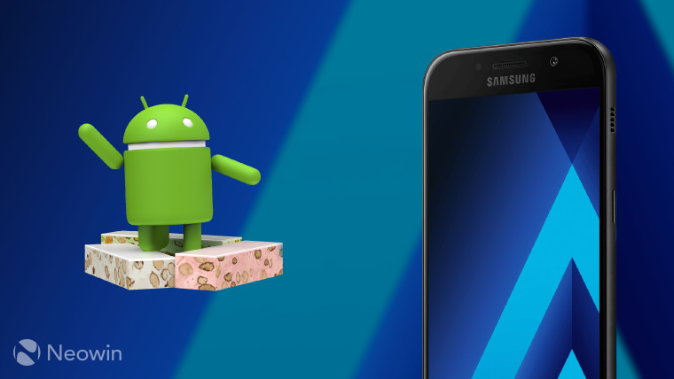 Samsung brings Android 7.0 Nougat to the Galaxy A5 (2017 ...