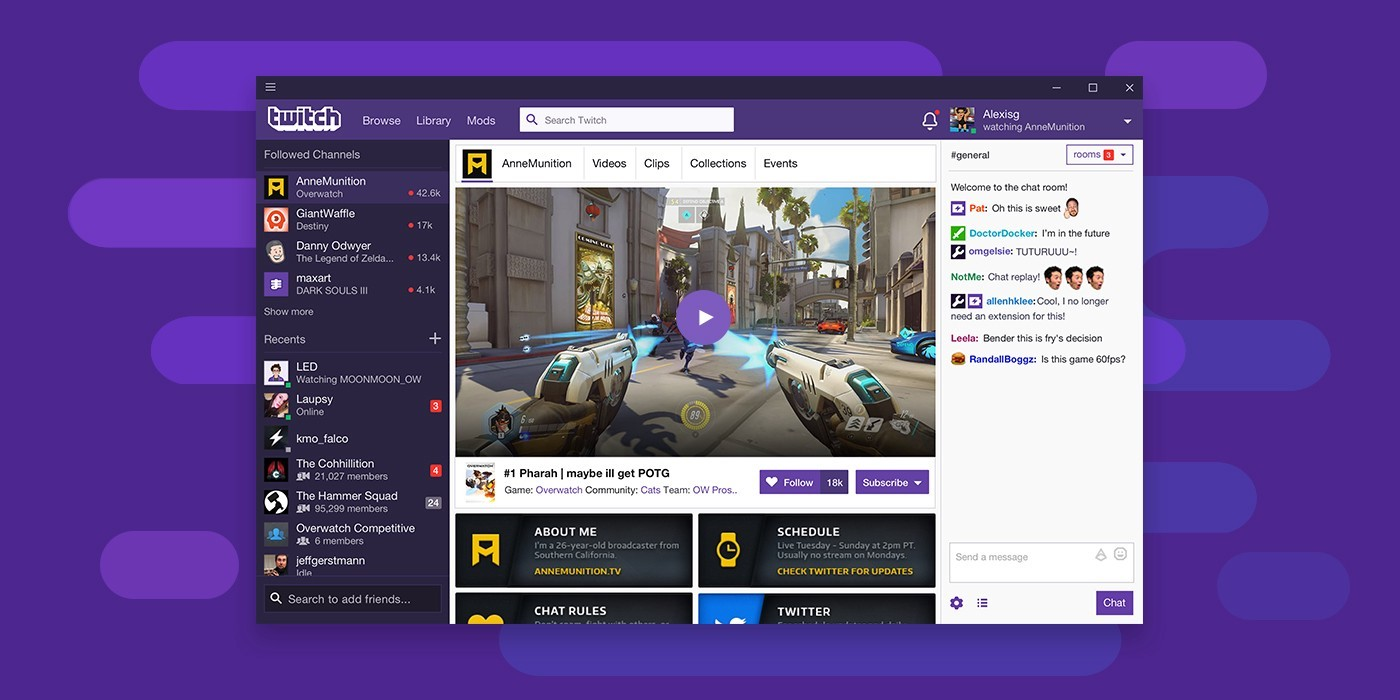 Twitch giveaways extension