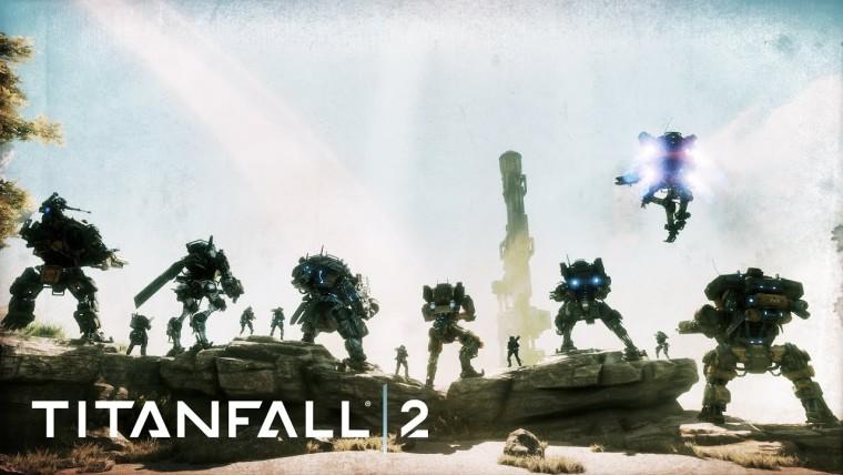 Titanfall 2 screenshot showcasing all Titans and classes
