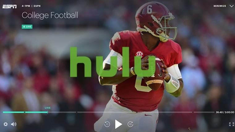 College football on hulu