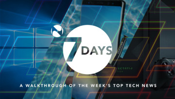 7 Days: A week of Scorpio anticipation, Windows 10 Mobile