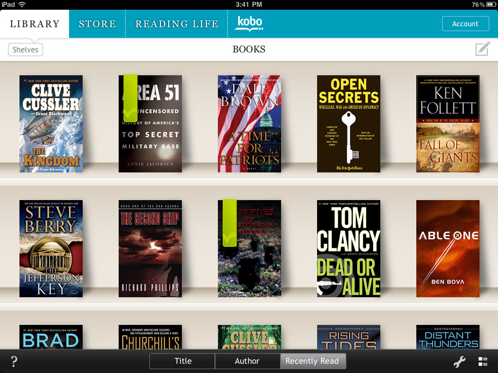 Audiobooks added to Kobo app